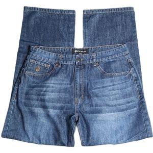 Rocawear Denim Jean Men's Loose Fit Style 36 X 32